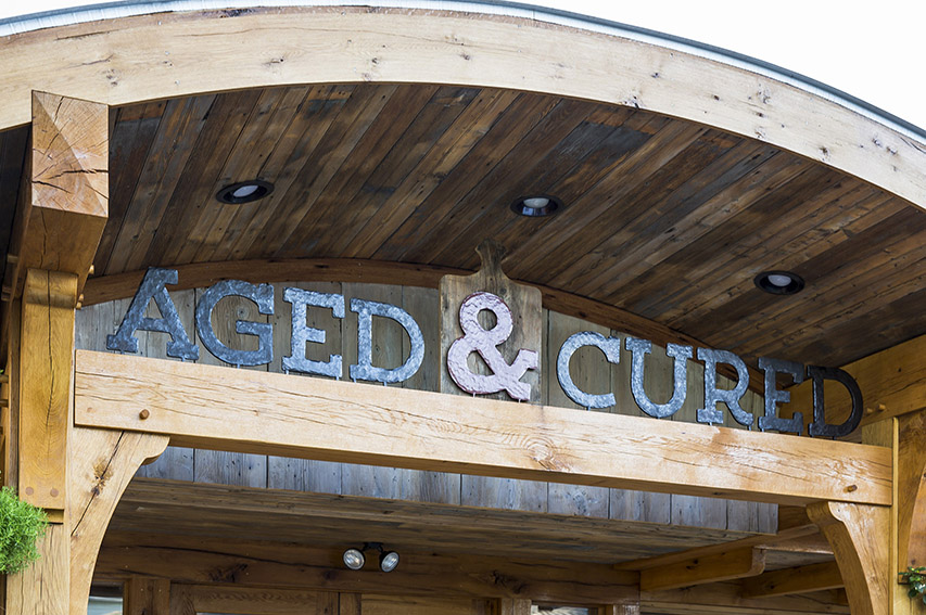 Aged & Cured Signage