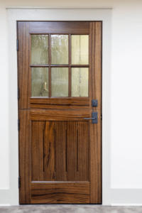 Sapele Mahogony Door with Window