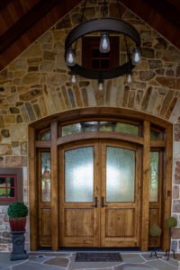 White Oak Entrance Door